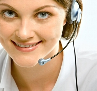 Agente a la que se monitoriza mediante el Monitor L!ve del software para call centers y telemarketing.